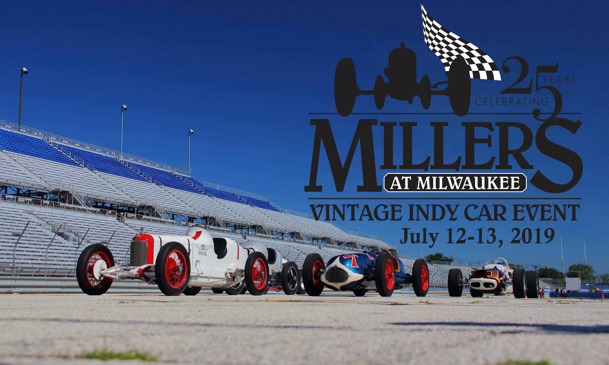 Millers at the Mile - Vintage Indy Car Event @ Milwaukee Mile | Milwaukee | Wisconsin | United States